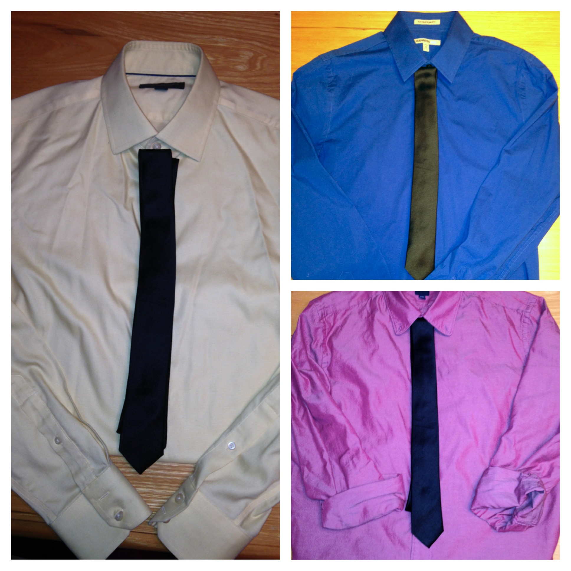 Shirts and ties it s a match part 1 boots and bowties for Matching ties with shirts